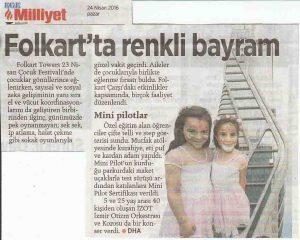 İZOT Milliyet Ege Gazetesi Haberi - 24 Nisan 2016